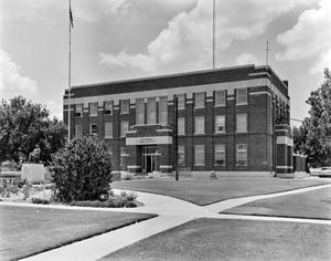 Primary view of object titled '[Garza County Courthouse]'.