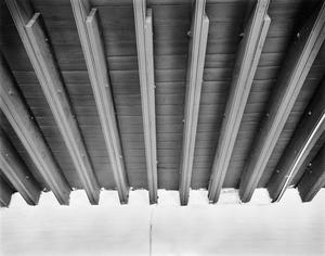 Primary view of object titled '[Casimiro Tamayo Store, (Beam detail)]'.