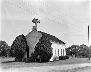 Primary view of object titled '[First Baptist Church, (Northwest oblique)]'.