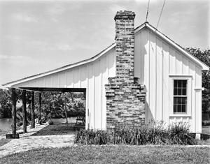 Primary view of object titled '[Brock House, (East elevation)]'.