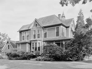 Primary view of object titled '[Helen Milroy House, (Northwest oblique)]'.