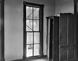 Primary view of object titled '[Ernst Gruene House, (Interior window det.)]'.
