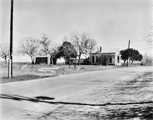 Primary view of object titled '[Ernst Gruene House, (Northwest oblique)]'.