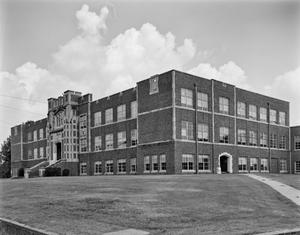 Primary view of object titled '[Marshall High School, (Northwest oblique)]'.