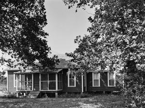 Primary view of object titled '[Dick-Wetzel House, (South facade)]'.