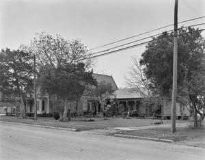 Primary view of object titled '[Dillard R. Fant Home (Old Denham Hotel)]'.