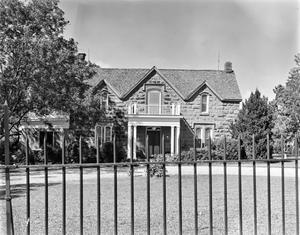 Primary view of object titled '[Adams-Shaw House]'.