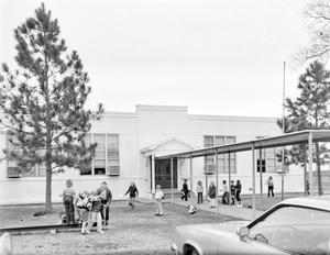 Primary view of object titled '[Beasley Elementary School, (North facade)]'.