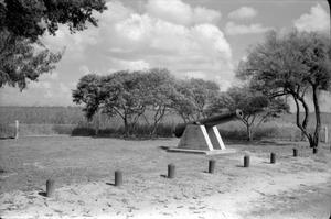Primary view of object titled '[Galveston's Ranch Battlefield]'.