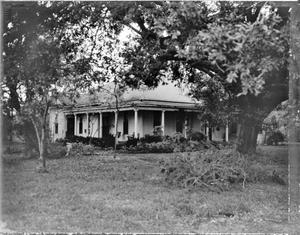 Primary view of object titled '[Kennedy-Journeay House, (Southwest oblique)]'.