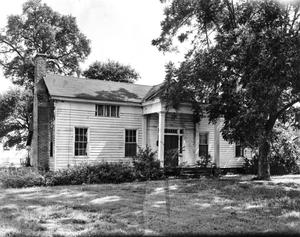 Primary view of object titled '[Cook-Alley House, (South facade)]'.