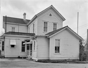 Primary view of object titled '[Belle Fry Gaines House, (North elevation)]'.