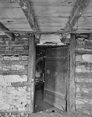 Primary view of object titled '[Old Itz House, (Interior door)]'.