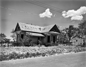 Primary view of object titled '[Abandoned Residence]'.