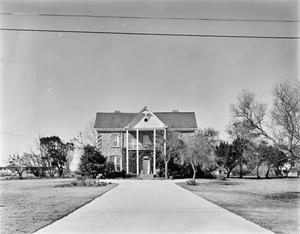 Primary view of object titled '[Brandt Bagger House, (Southwest oblique)]'.