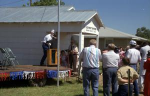Primary view of object titled '[Post Office at the Dawn Community 100th Birthday Celebration]'.