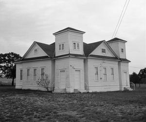 Primary view of object titled '[Mount Olive Baptist Church, (4-Southwest oblique)]'.