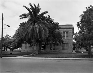 Primary view of object titled '[Dimmit County Courthouse, (North elevation)]'.