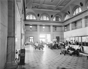 Primary view of object titled '[Union Station, (Interior)]'.