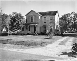 Primary view of object titled '[Lotz-Young-Storey House, (Northwest oblique)]'.