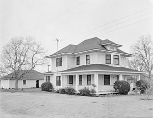 Primary view of object titled '[Ruck-Meyer House, (Southeast oblique)]'.