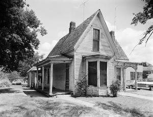 Primary view of object titled '[Zabel House, (Southwest)]'.