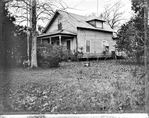 Primary view of object titled '[Grammer-Bond House, (Northeast oblique)]'.