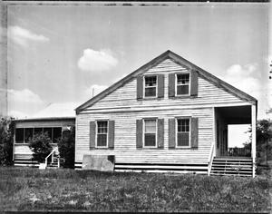 Primary view of object titled '[Seaburn House, (Southeast oblique)]'.