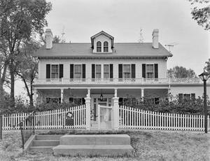 Primary view of object titled '[Starr House (Maplecroft), (South elevation)]'.
