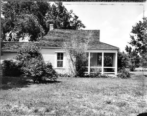 Primary view of object titled '[Peach Point Plantation, (South elevation)]'.