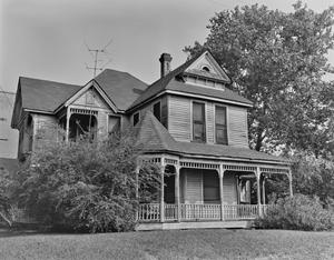 Primary view of object titled '[Crowall House, (Southwest oblique)]'.
