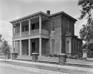 Primary view of object titled '[Hagerty House, (Southeast oblique)]'.