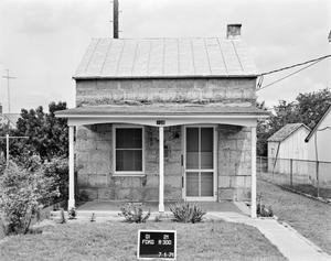 Primary view of object titled '[Rosenback House, (East elevation)]'.