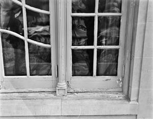 Primary view of object titled '[Aldredge House, (Window detail)]'.