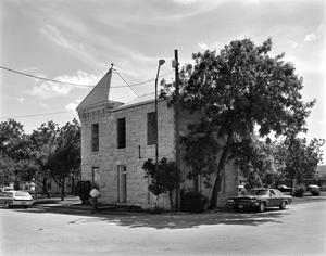 Primary view of object titled '[Edwards County Jail]'.