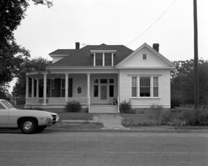 Primary view of object titled '[Koch Home, (East elevation)]'.