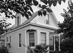 Primary view of object titled '[Jacobson House, (South facade)]'.