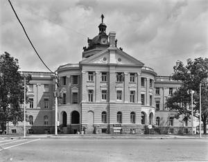 Primary view of object titled '[Harrison County Courthouse, (South elevation)]'.