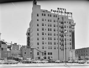 Primary view of object titled '[Hotel El Paso del Norte]'.
