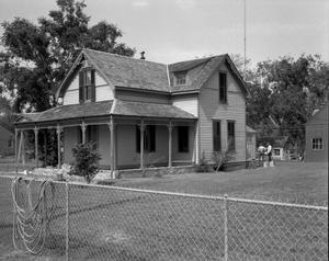 Primary view of object titled '[Baver House, (Southeast elevation)]'.