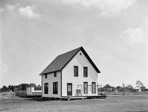 Primary view of object titled '[Keenan Johnson House, (Northwest oblique)]'.