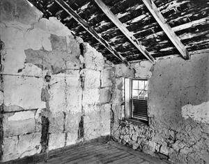 Primary view of object titled '[A. Pieper Place, (Barn interior fachwerk)]'.