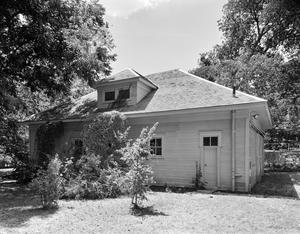 Primary view of object titled '[Tyler Fox House, (Northeast (Carriage house))]'.