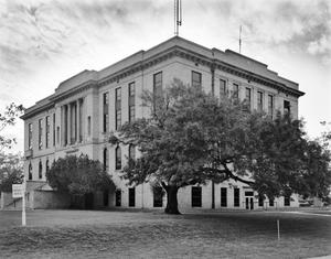 Primary view of object titled '[Burleson County Courthouse]'.