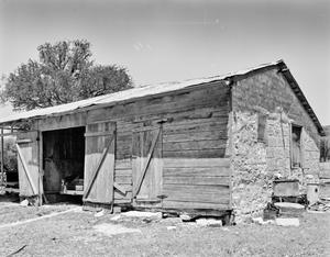 Primary view of object titled '[Rausch House/Farm, (Southeast oblique)]'.