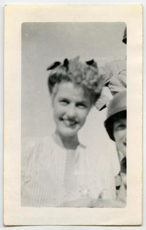 Primary view of object titled '[Photograph of Anita Louise]'.