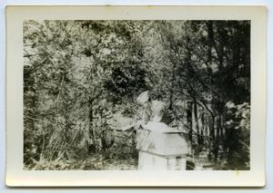 Primary view of object titled '[Soldier Studying in a Forest]'.