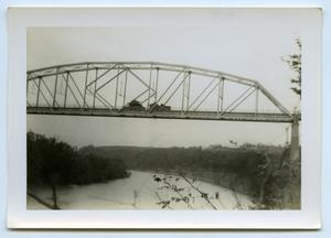 Primary view of object titled '[Photograph of Bridge]'.