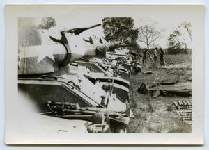 Primary view of object titled '[A Row of Tanks]'.