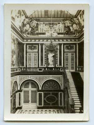 Primary view of object titled '[Photograph of the Inside of a German Building]'.